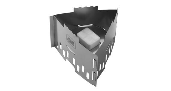 Hornillo de combustible sóildo Esbit de acero inoxidable